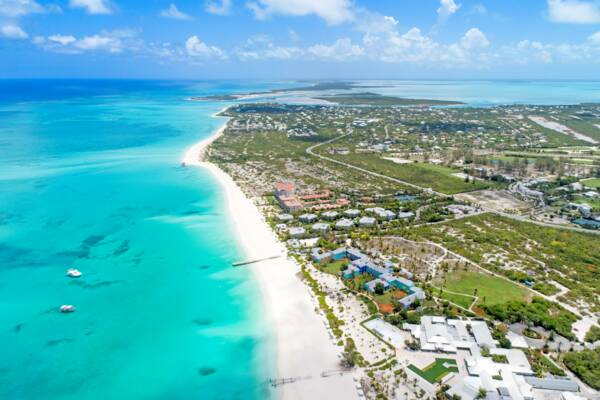 Grace Bay and Leeward in the Turks and Caicos