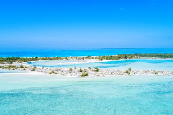 Half Moon Bay in the Turks and Caicos
