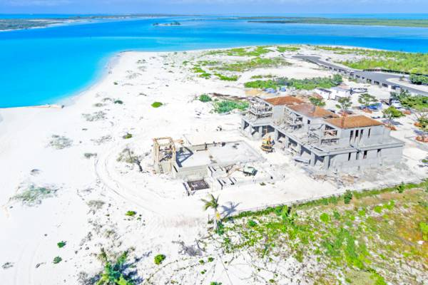 Turks and Caicos luxury villa construction