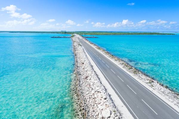 North Caicos and Middle Caicos Causeway