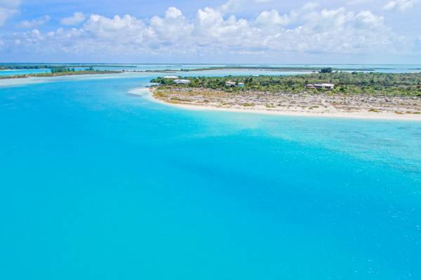 Pine Cay and channel