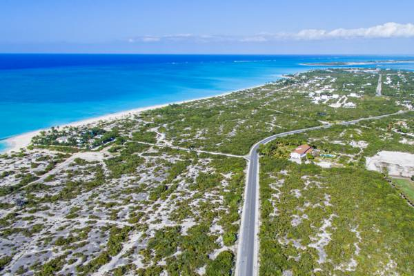 Grace Bay Road and the Leeward Development on Providenciales