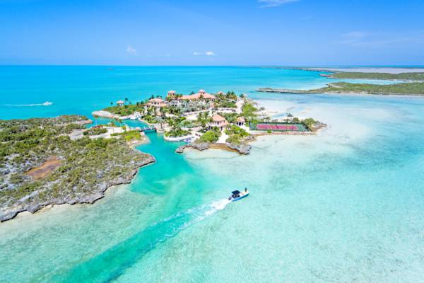 Emerald Cay estate in Turks and Caicos