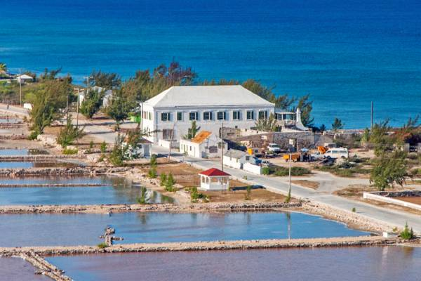 the Harriett White House and Balfour Town on Salt Cay