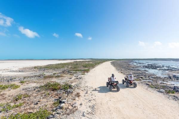 ATV tour in Turks and Caicos