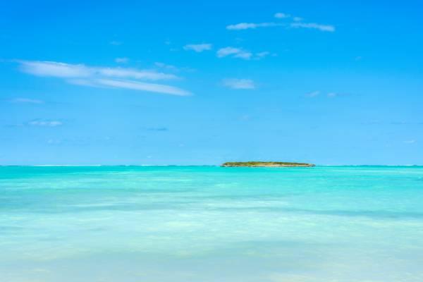 the ocean at Bambarra Beach and Pelican Cay
