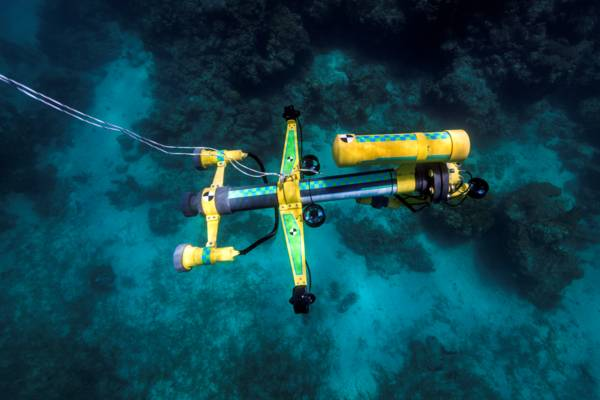 Underwater ROV made in the Turks and Caicos