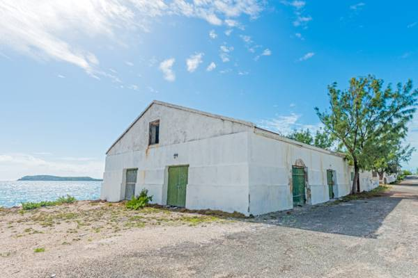 old stone warehouse at Cockburn Harbour on South Caicos