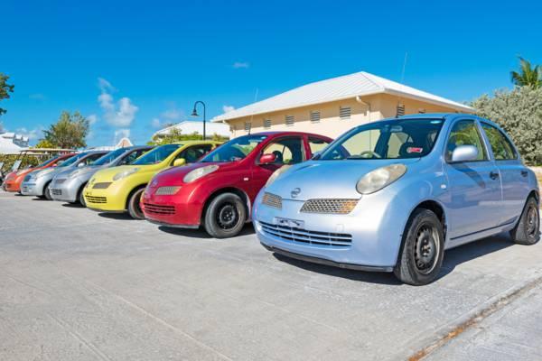 economy class rental cars on Grand Turk