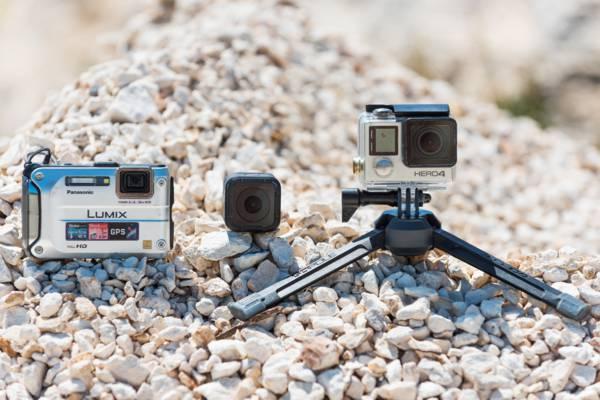 Nikon AW camera and GoPro Cameras