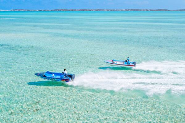 Turks and Caicos conch boats
