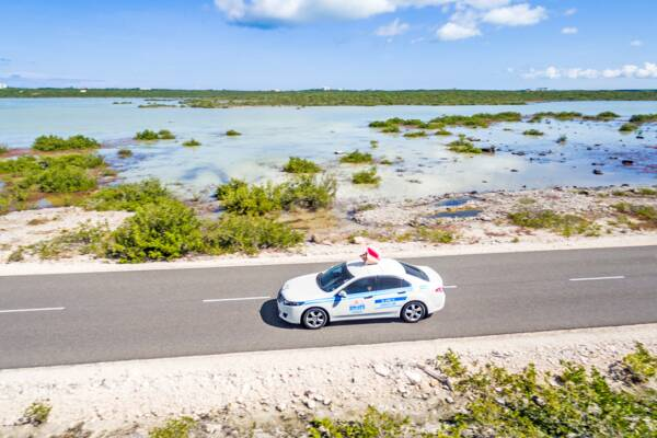 Conch Cab ride hailing service in the Turks and Caicos