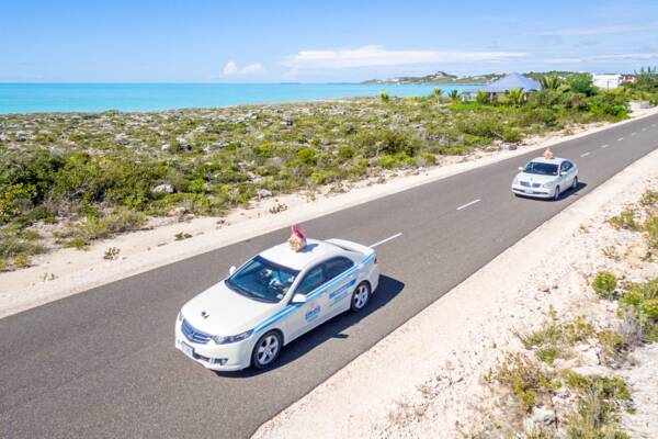 ride hailing in Turks and Caicos