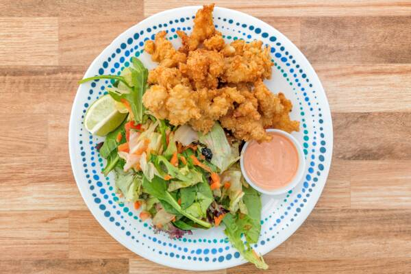 Turks and Caicos conch fritters
