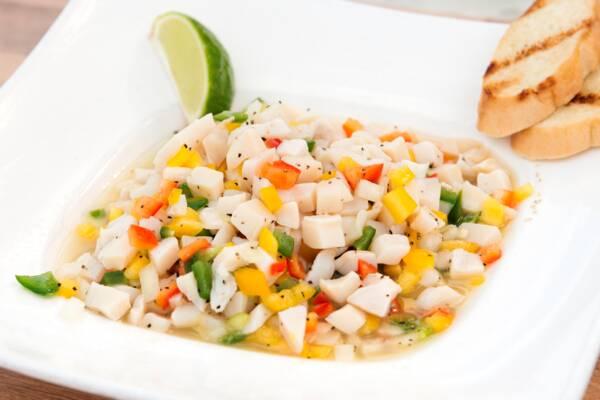 Turks and Caicos conch salad