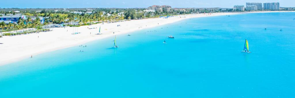Grace Bay Beach and water sports