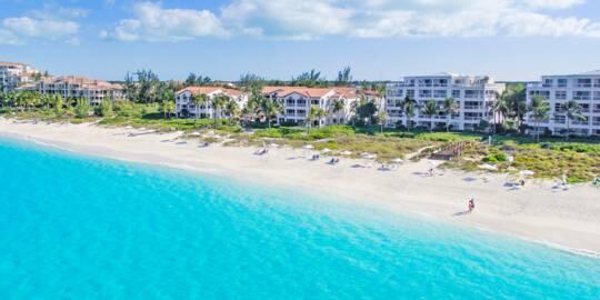 luxury resorts on Grace Bay Beach, Turks and Caicos
