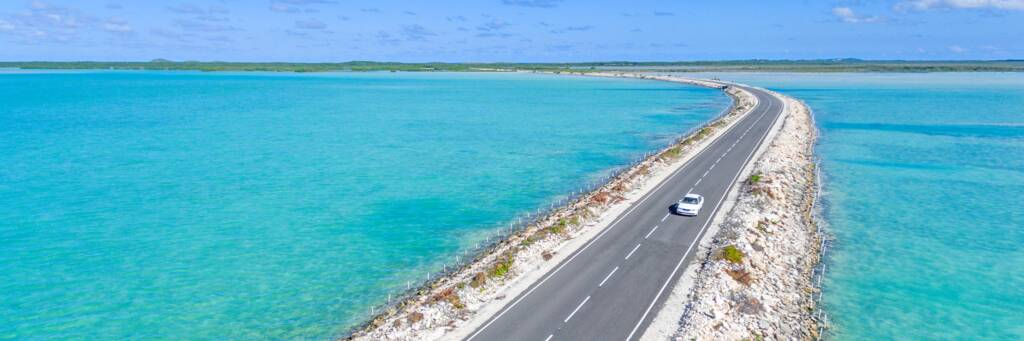 the North Caicos and Middle Caicos Causeway