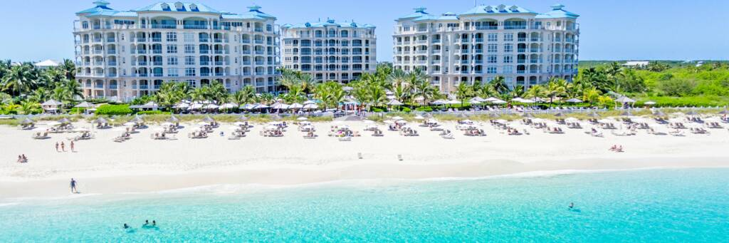 Seven Stars resort on Grace Bay Beach in the Turks and Caicos