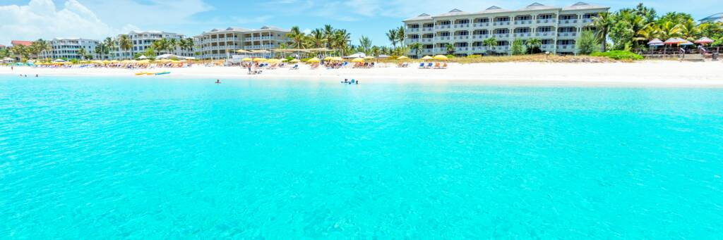 Alexandra Resort on Grace Bay Beach in the Turks and Caicos