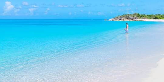 amazing beach in the Turks and Caicos