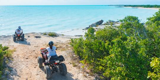 ATV tour in the Turks and Caicos