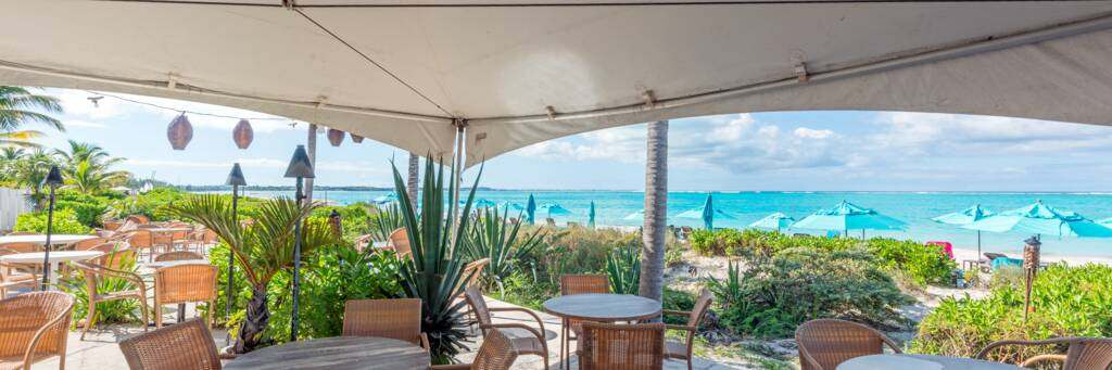 Bay Bistro Restaurant in the Turks and Caicos