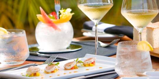 fine dining in the Turks and Caicos