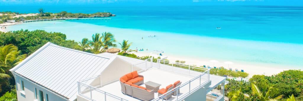 Blue Heaven Villa at Sapodilla Bay in the Turks and Caicos