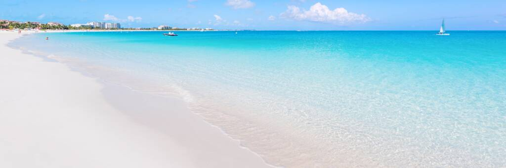 beautiful weather and beach at Grace Bay