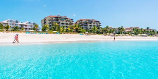 luxury resorts on the beautiful Grace Bay Beach
