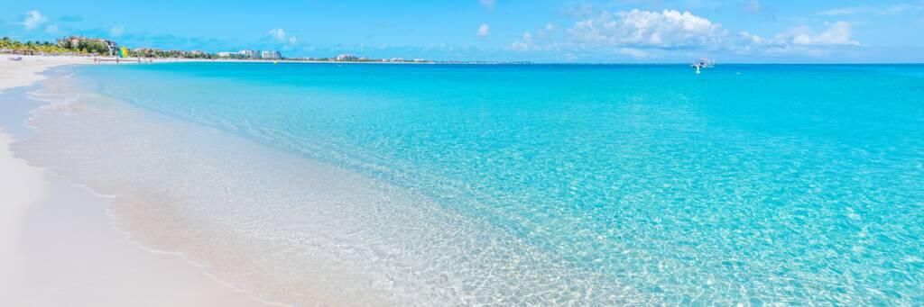 beautiful water at Grace Bay Beach