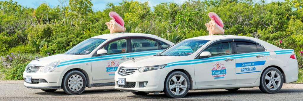 The Conch Cab ride hailing service.