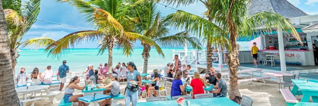 Da Conch Shack restaurant in the Turks and Caicos