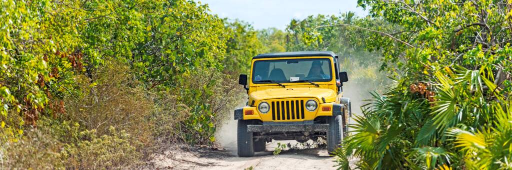 jeep tour on South Caicos