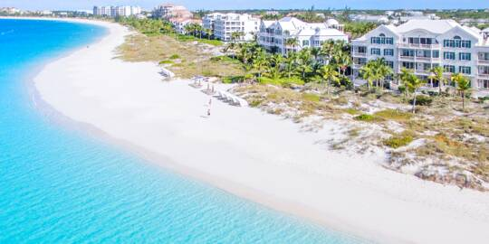 resorts on Grace Bay Beach in Turks and Caicos