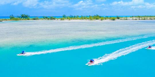 boat rentals in the Turks and Caicos