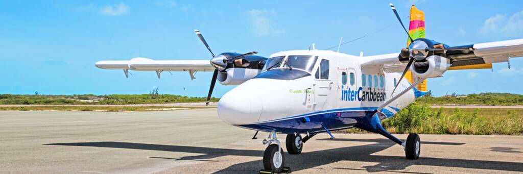interCaribbean Twin Otter airplane
