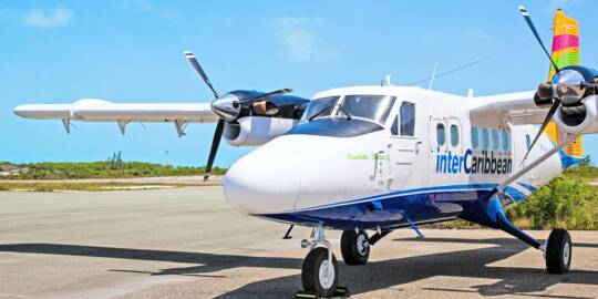 interCaribbean Twin Otter airplane