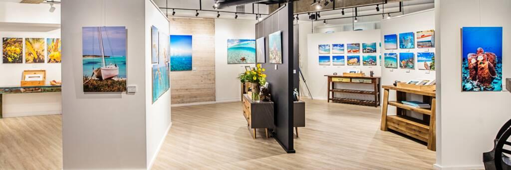 Brilliant Studios art gallery at Saltmills plaza
