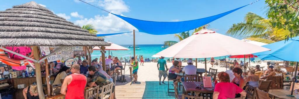 Jack's Shack beach restaurant on Grand Turk