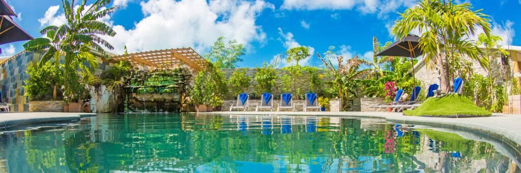 pool at Kokomo Resort