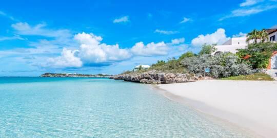 La Koubba villa at Sapodilla Bay in the Turks and Caicos