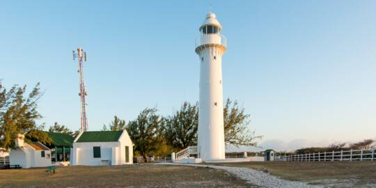 the Grand Turk Lighthouse and surrounding grounds