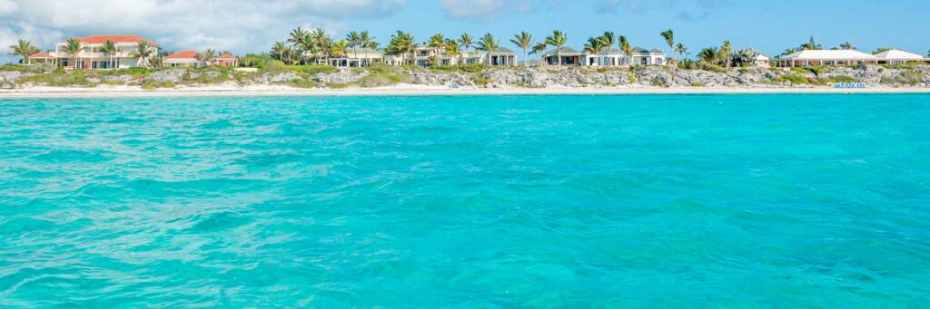 luxury vacation rental villas at Long Bay Beach on Providenciales