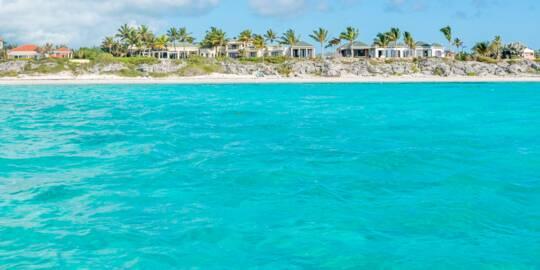 luxury vacation rental villas at Long Bay Beach on Providenciales