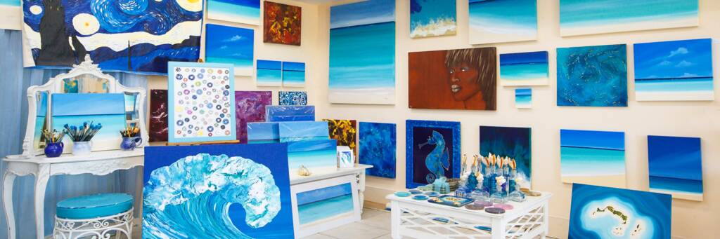 original paintings in the Turks and Caicos