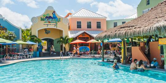 the swimming pool at Margaritaville at the Grand Turk Cruise Center