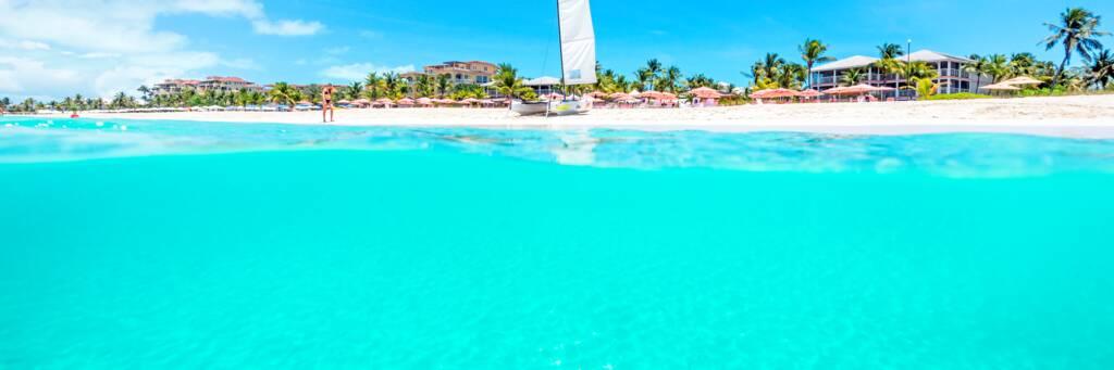 beach at Ocean Club West resort