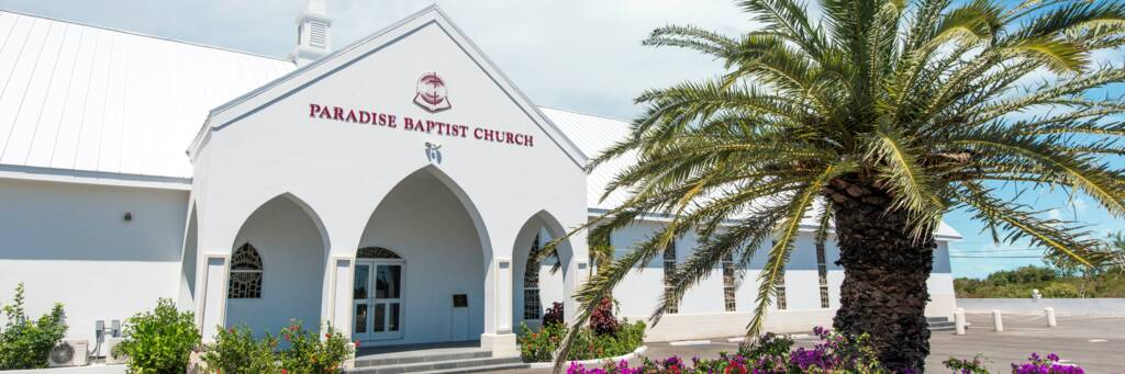 the newly-constructed Paradise Baptist Church in Five Cays on Providenciales